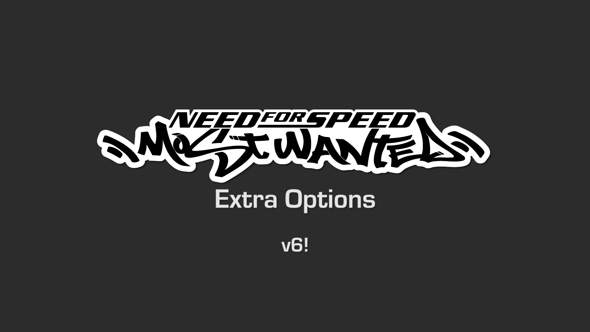 NFSMods - NFSMW Extra Options