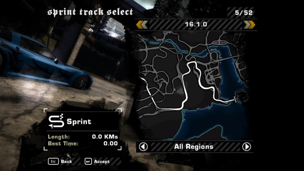 nfs most wanted save file till blacklist 8