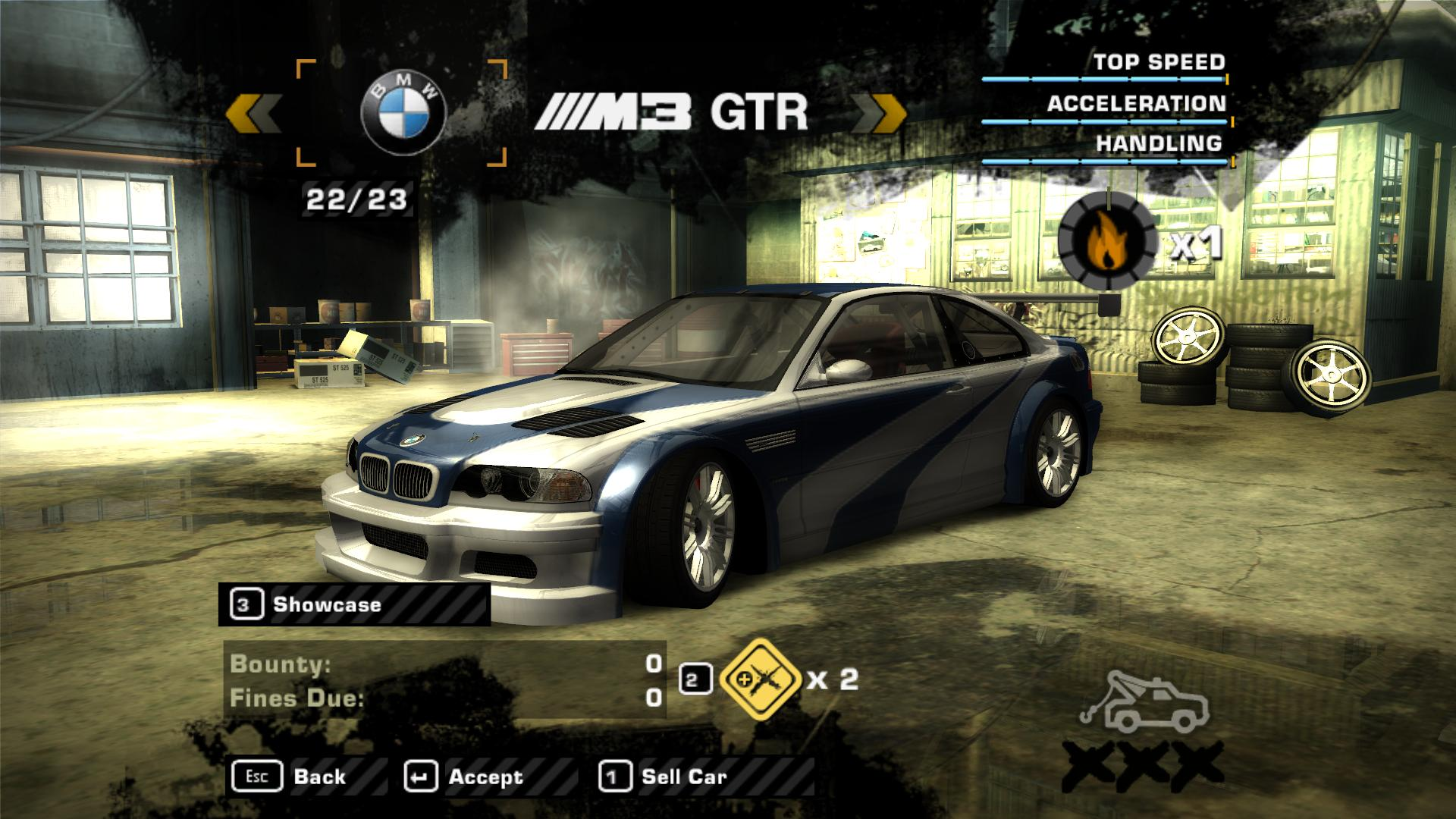 need for speed most wanted ps2 bmw