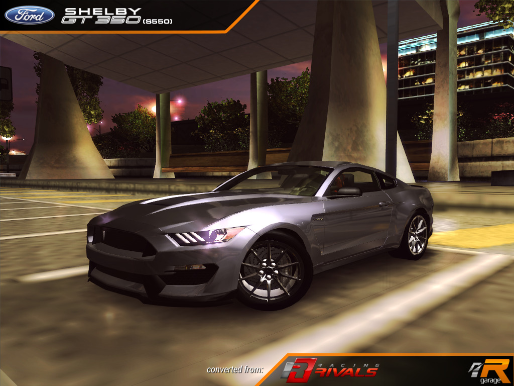 Ford shelby gt 350 s550 underground 2 u2 ug2 ford mustang