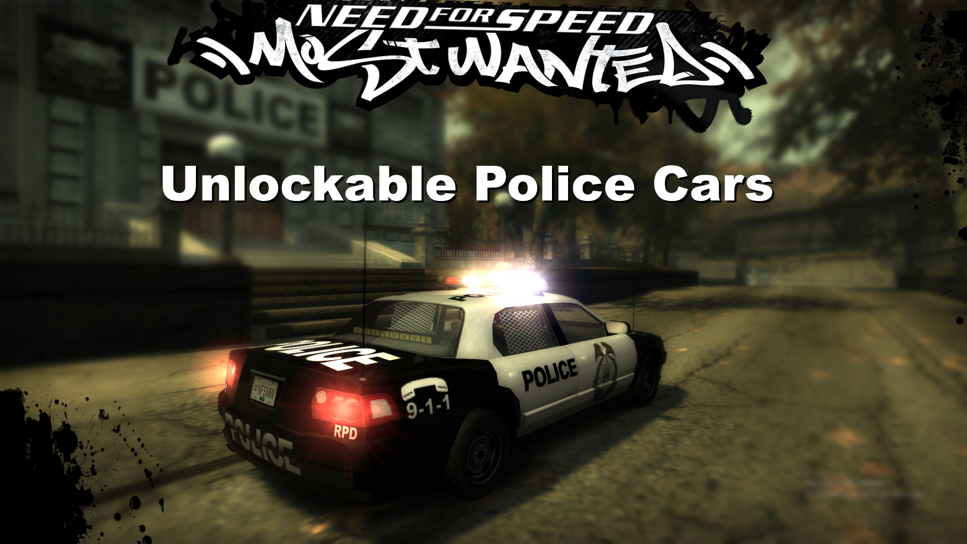 Nfsmods Need For Speed Most Wanted Unlockable Police Cars