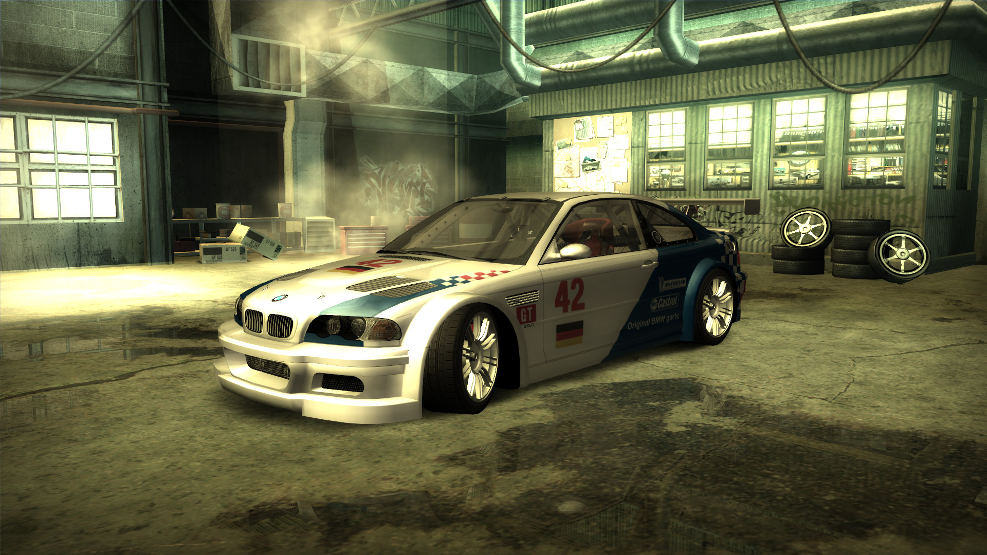 Nfsmods 42 Bmw Factory Team Livery For Bmw M3 Gtr
