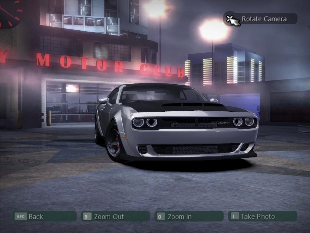 NFSMods - Dodge Challenger SRT Demon