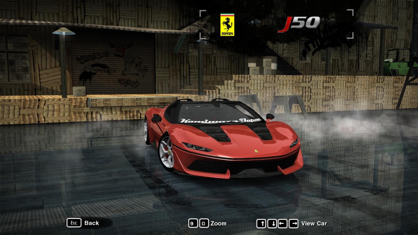 NFSMods - Ferrari J50 on