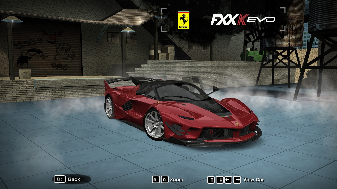 Nfsmods Ferrari Fxx K Evo
