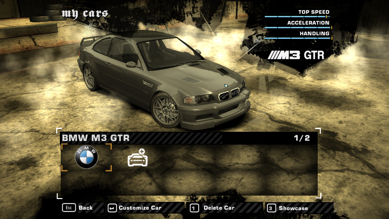 Nfsmods Upgradeable Bmw M3 Gtr Street