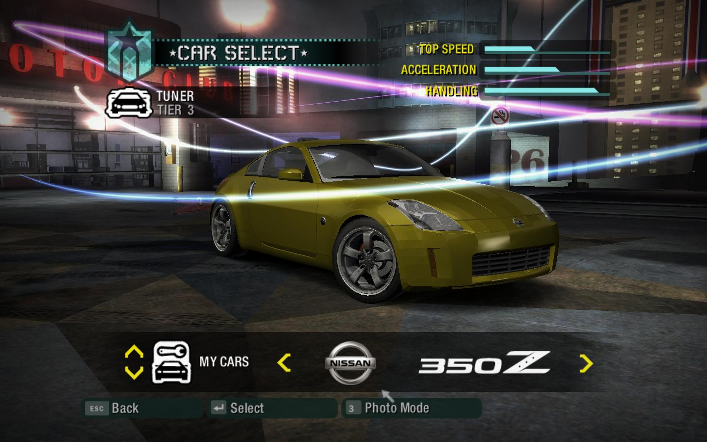 NFSMods - Need for speed Carbon: Undercover Nissan 350Z Z33