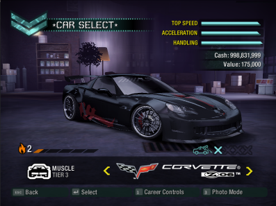 NFSMods - NFS:Carbon Imported Stuff From NFSMW