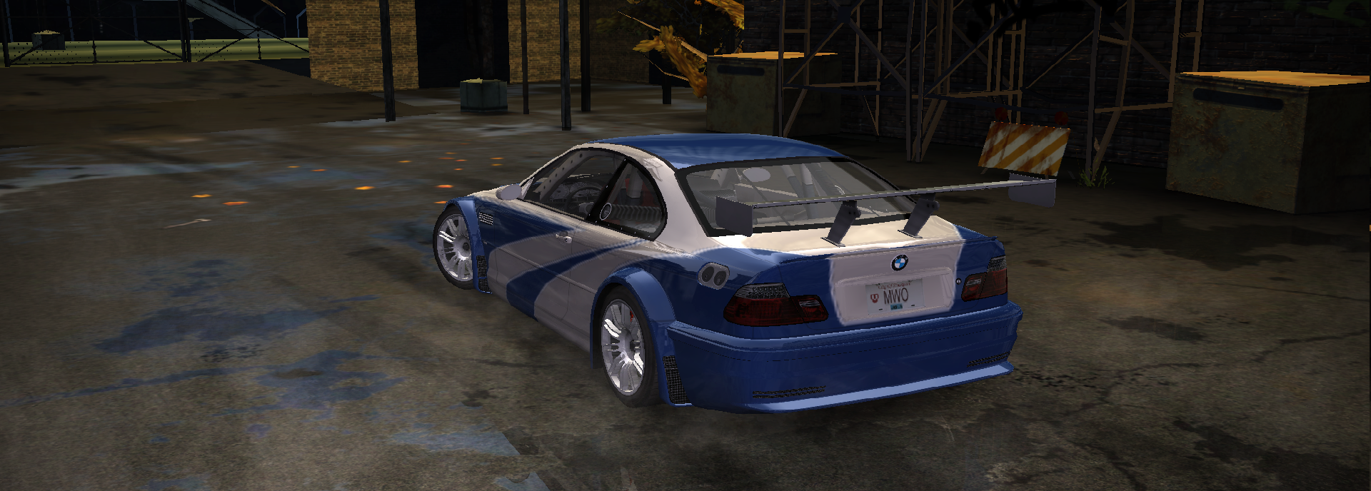 Nfsmods Carbon To Most Wanted Bmw M3 Gtr E46 Textures