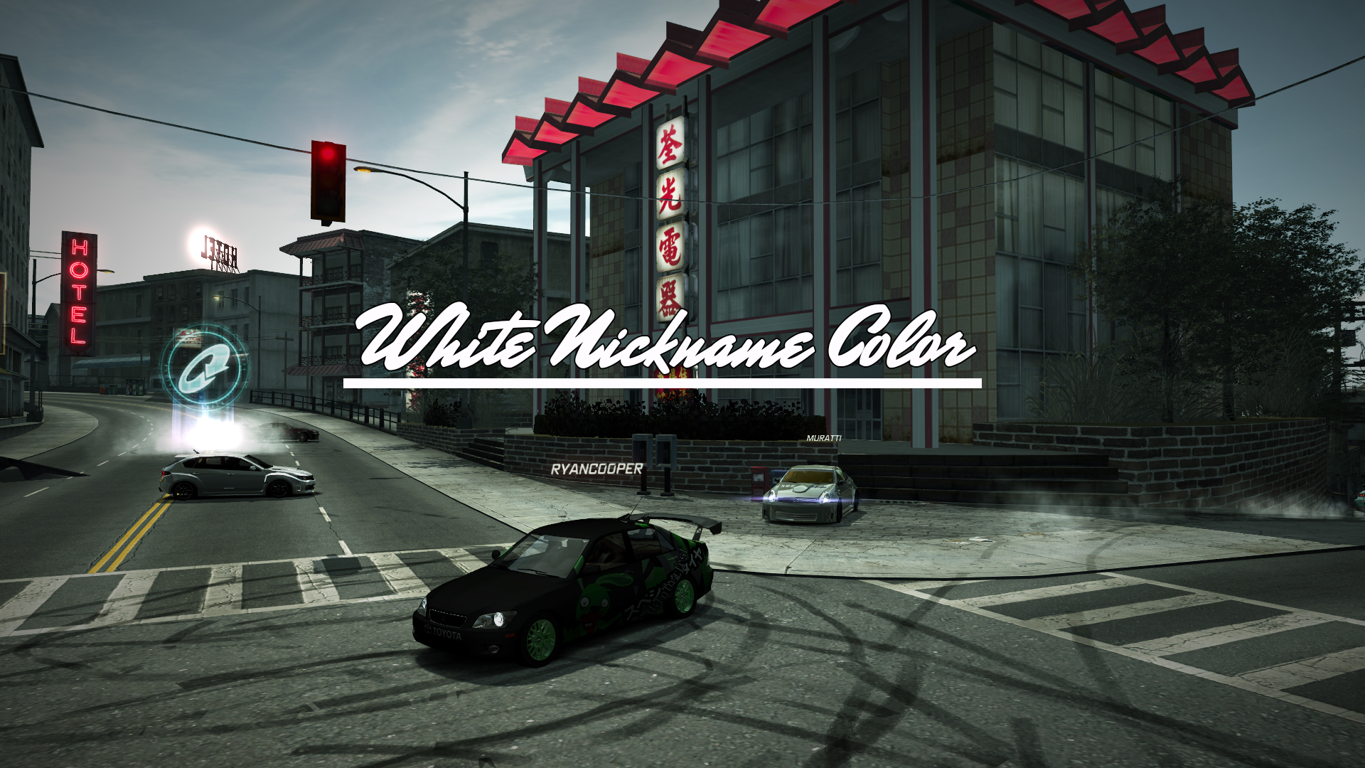 NFSMods - NFS World: White Colored Nicknames