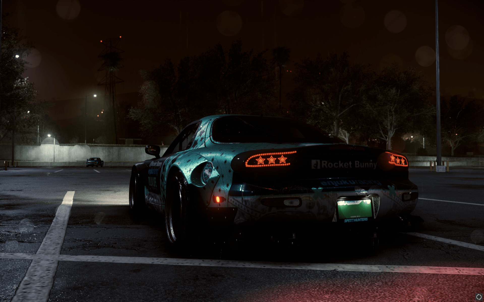 NFSMods - Stars Taillights for Mazda RX-7