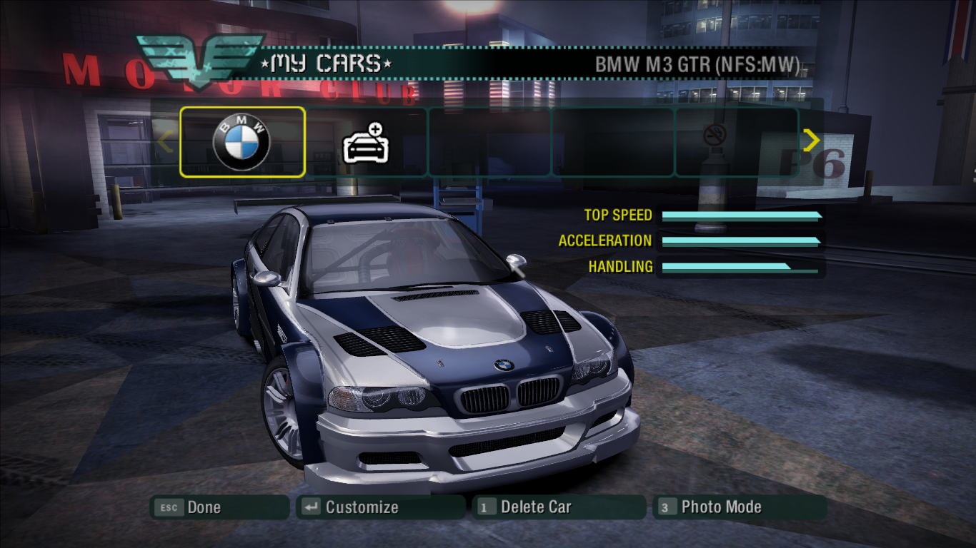 Nfs Carbon Bmw M3 Gtr Download