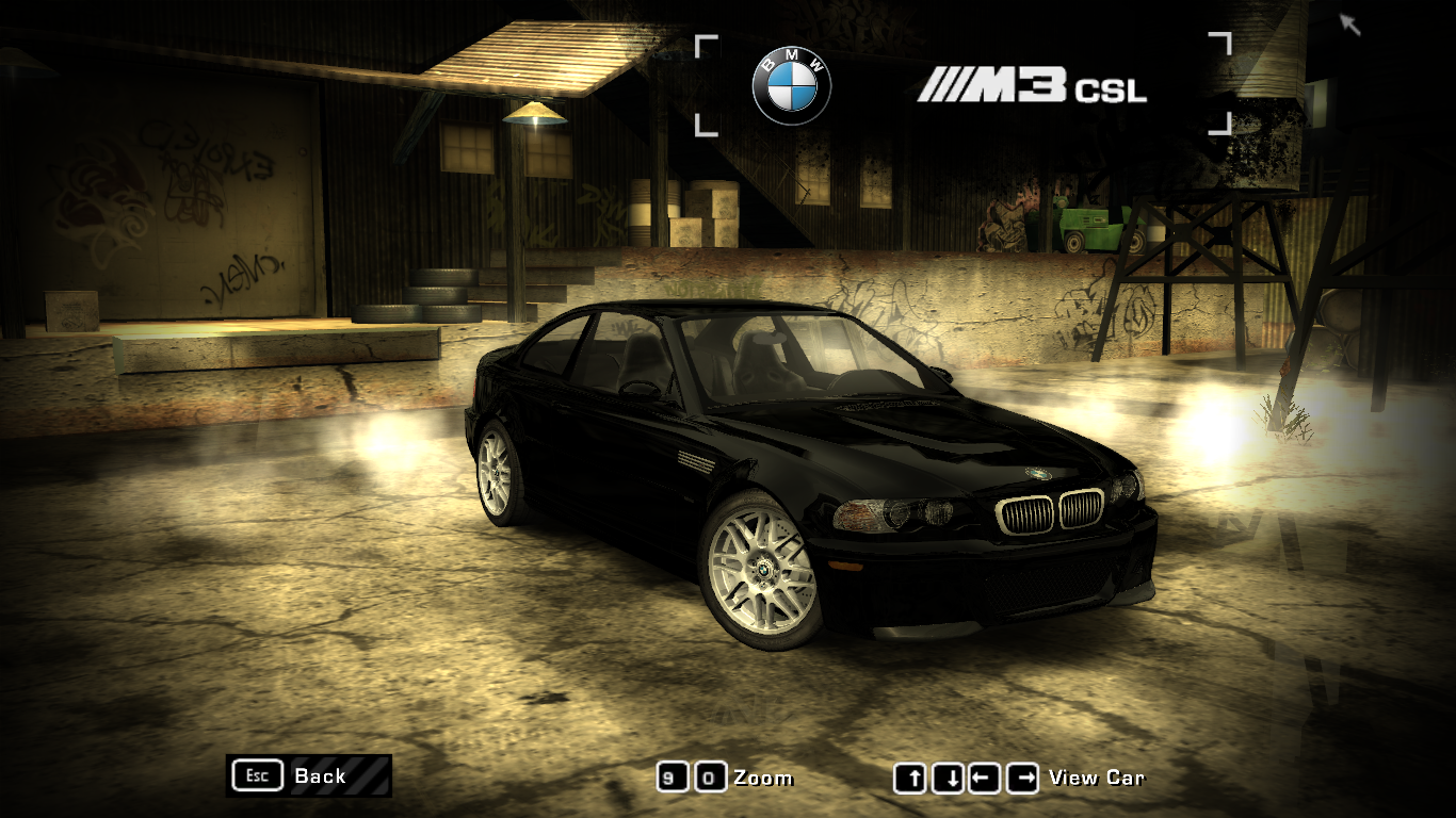 Nfsmods Nfs Most Wanted Fixed Bmw M3 Csl Mod Beta
