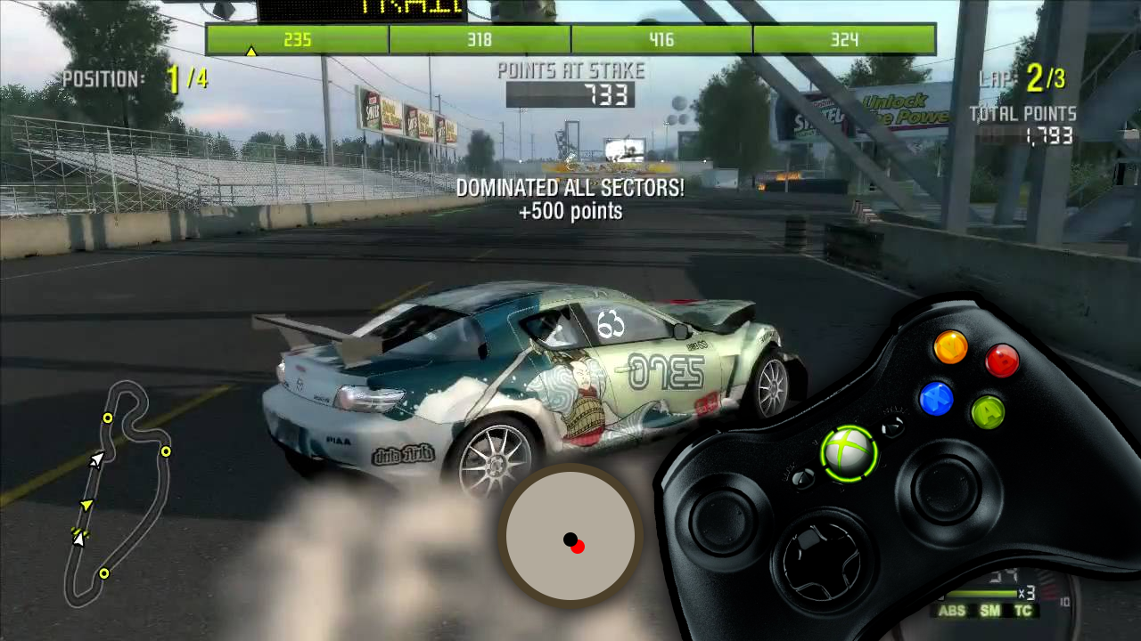 NFSMods - Input Deadzones for Controllers