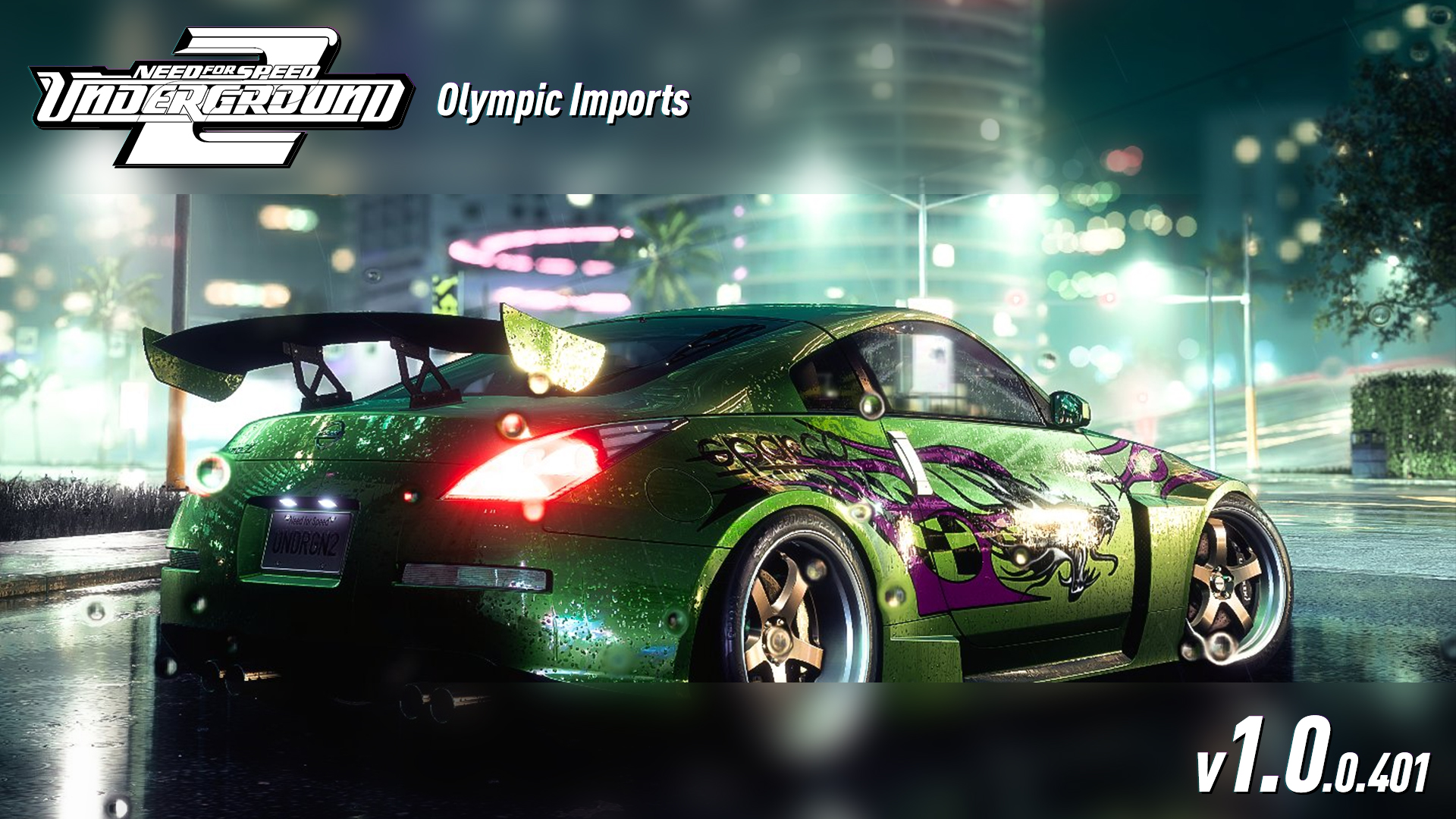 Nfsmods Nfsu2 Olympic Imports