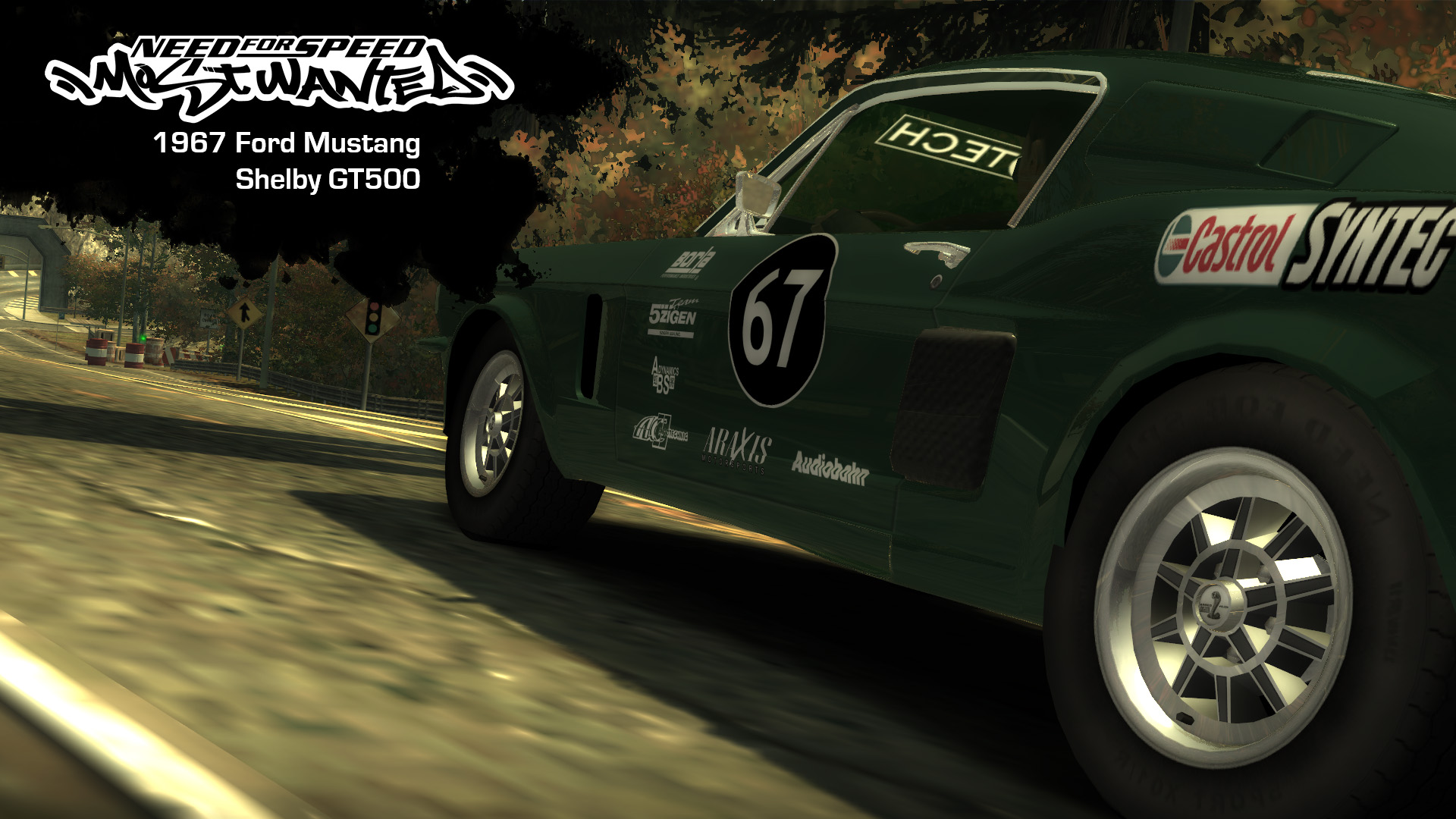 Nfsmods 1967 Ford Mustang Shelby Gt500 Add On